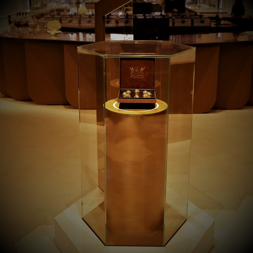 Enter in the refined world of chocolate of Boutique Le Chocolat in Dubai