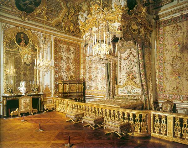 Queen's chamber in Versailles