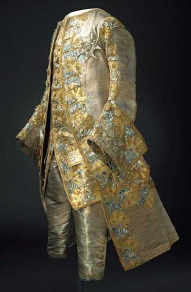Golden robe of the King of Sweden