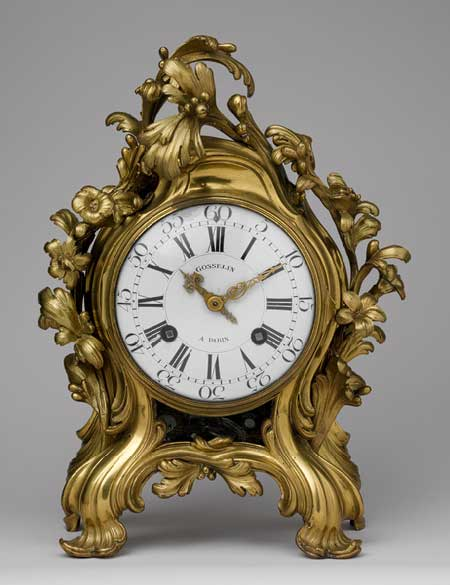 Gold clock II