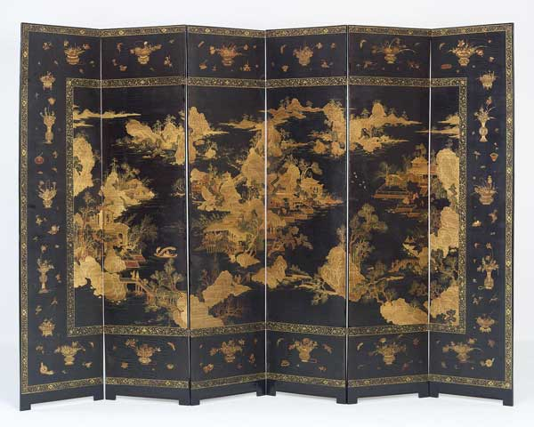 Lacquered screen