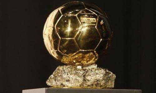 Football award in gold