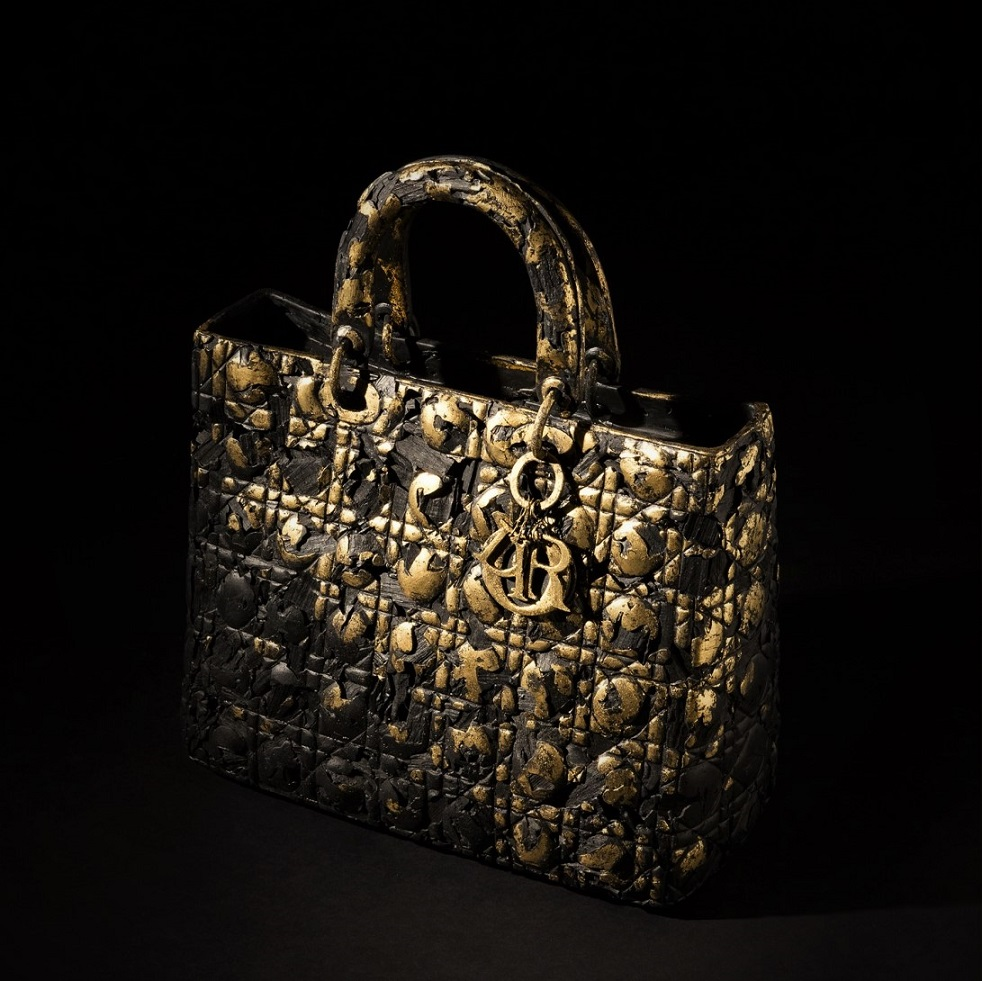 "The emblematic ""Lady Dior"" as seen by Seon-Ghi Bahk"