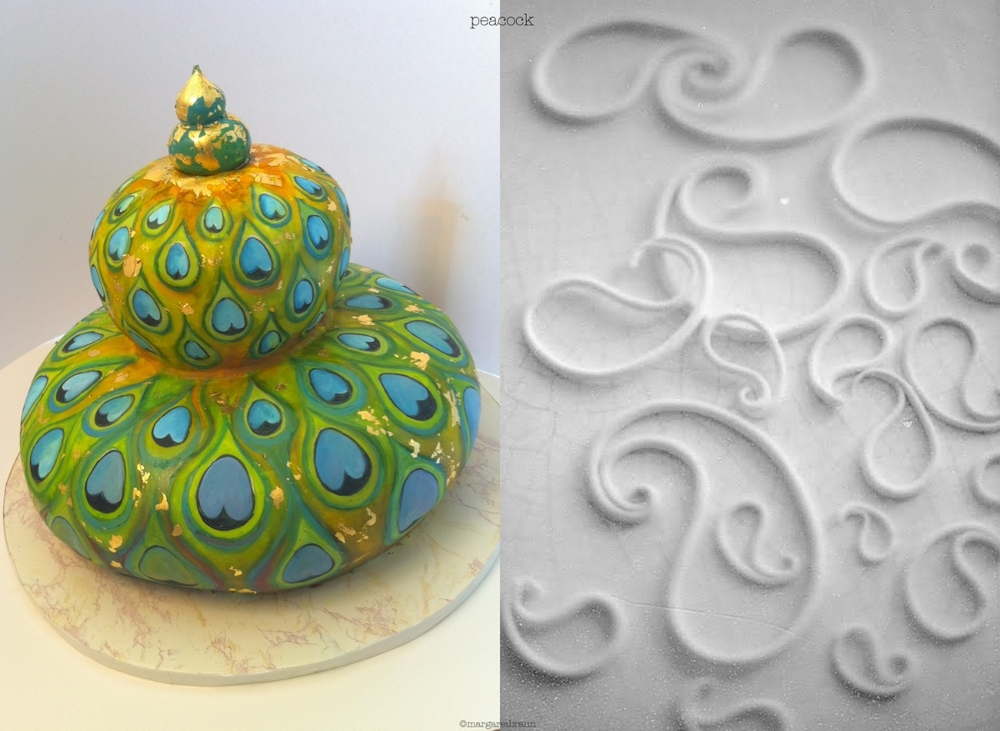 Edible gold creations: cake decorating by Margaret Braun ...