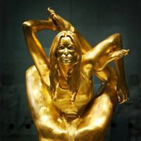 This 18k gold sculpture by Marc Quinn is the largest gold statue to be sold since Ancient Egypt.