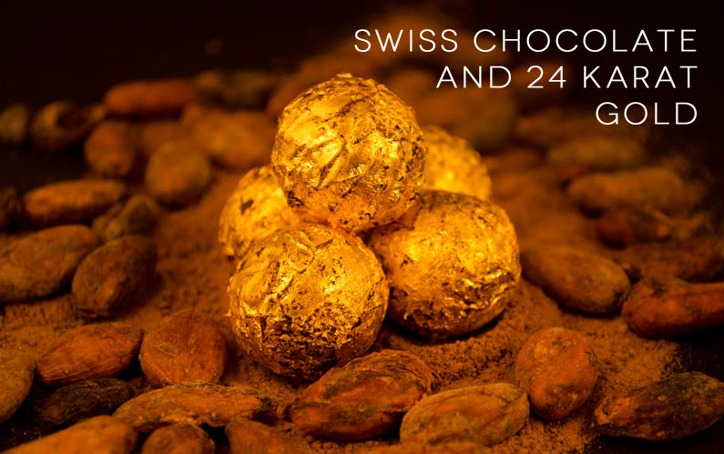 gold chocolate